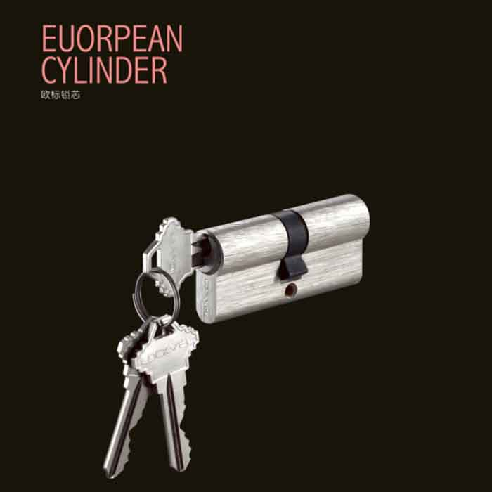 Euro high-end door cylinder lock