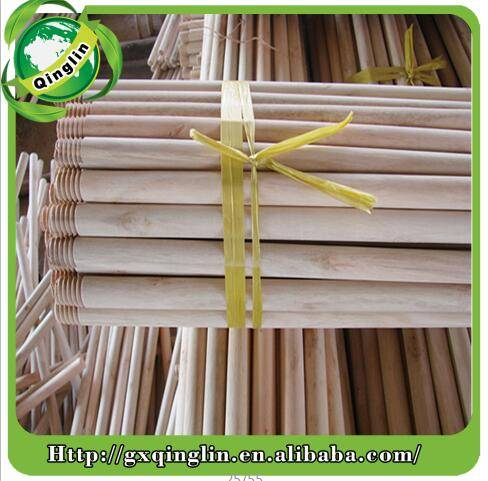 PVC coated logs wood handle stick poles for farm-oriented tools
