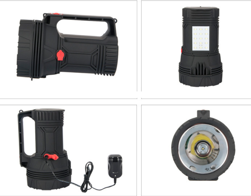 Led portable light charging strong light portable work light outdoor multi-function patrol searchlig