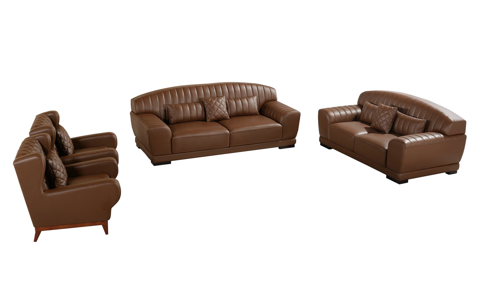 Luxury Living Room Sofa Modern Leather Sofa