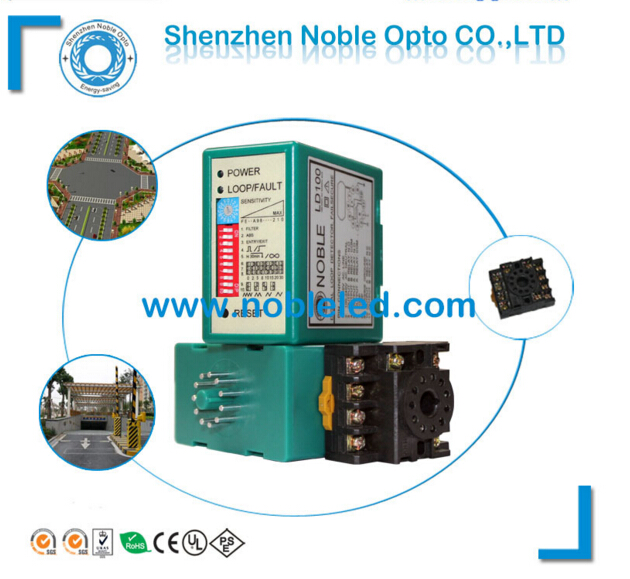 High Sensitivity Automatic Barrier Gate Used Single Channel Vehicle Loop Detector