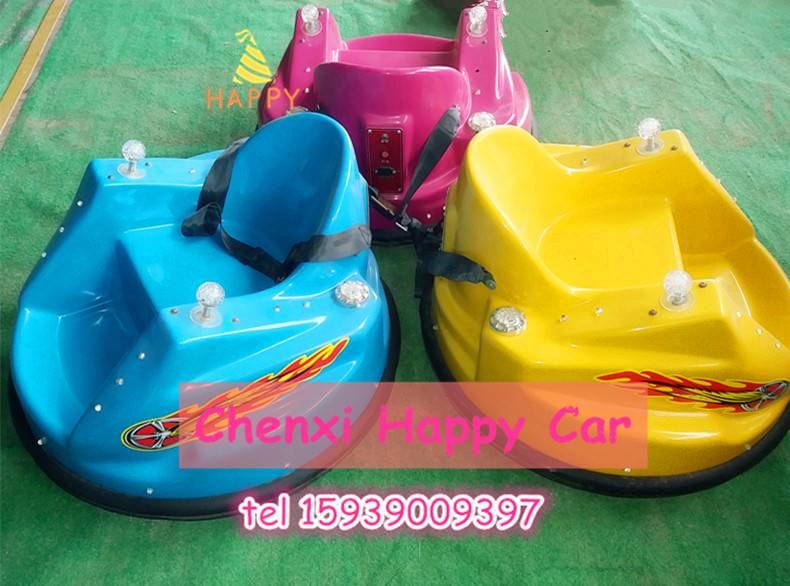 Popular Kiddie Ride Battery UFO Battery Bumper Car for Fairground