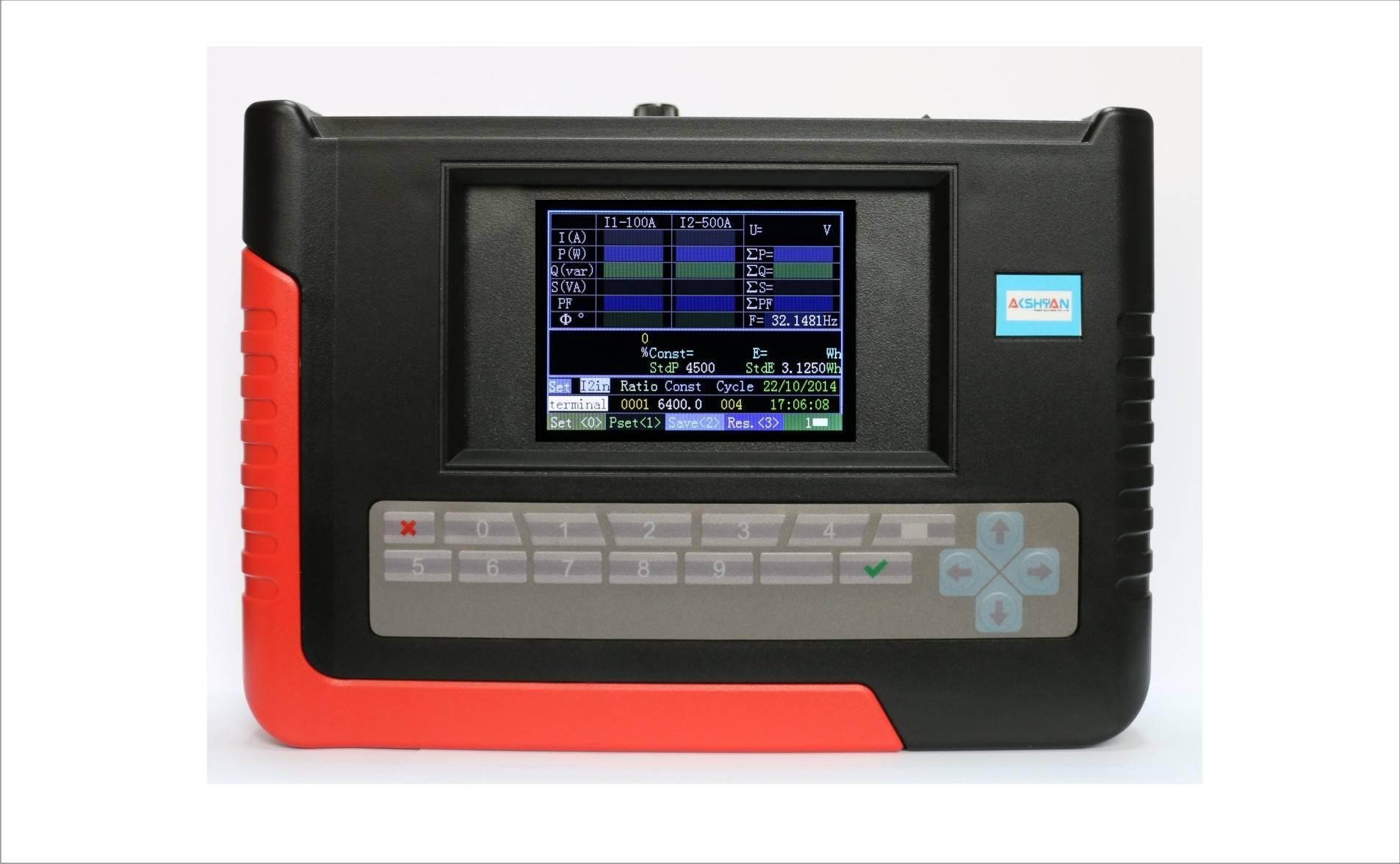 Handheld Single Phase Meter Tester