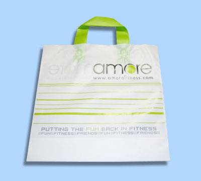Shopping Bag, Made of PE (LDPE/HDPE), PO, PVC and OPP