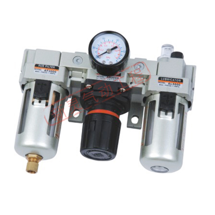 SMC Type AC Air Filter Air Source Treatment Unit Air Pressure Regulator with Gauge