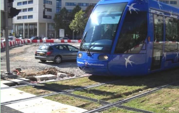 Subway / tram Drain