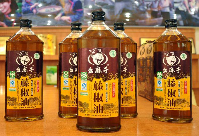 Chinese Seasoning Oil Sichuan Peppercorn 0il
