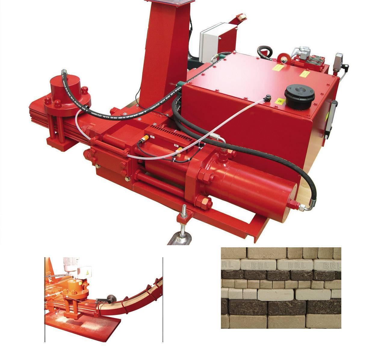 Wood Bricks Machine