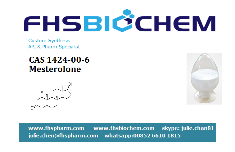 Buy Mesterolone 50mg Injection USA,Mesterolone for Sale, CAS 1424-00-6