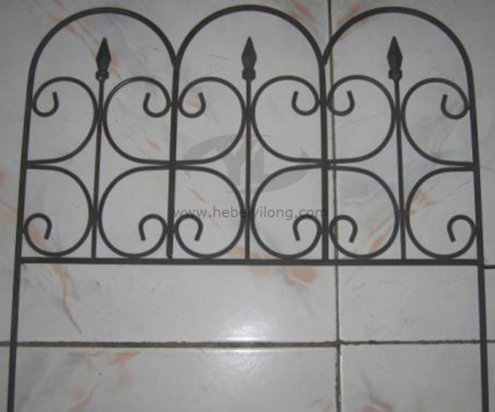 Hot sale Metal Fencing Removable Fence used in Gardening YL-7810