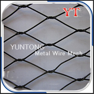 Rust Resistant Black Oxide Stainless Steel Wire Mes