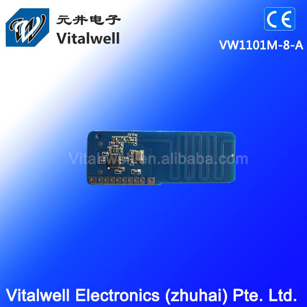 VW1101M-8-A 3.3V 868MHz Multi receiver rf module with CE Certificate