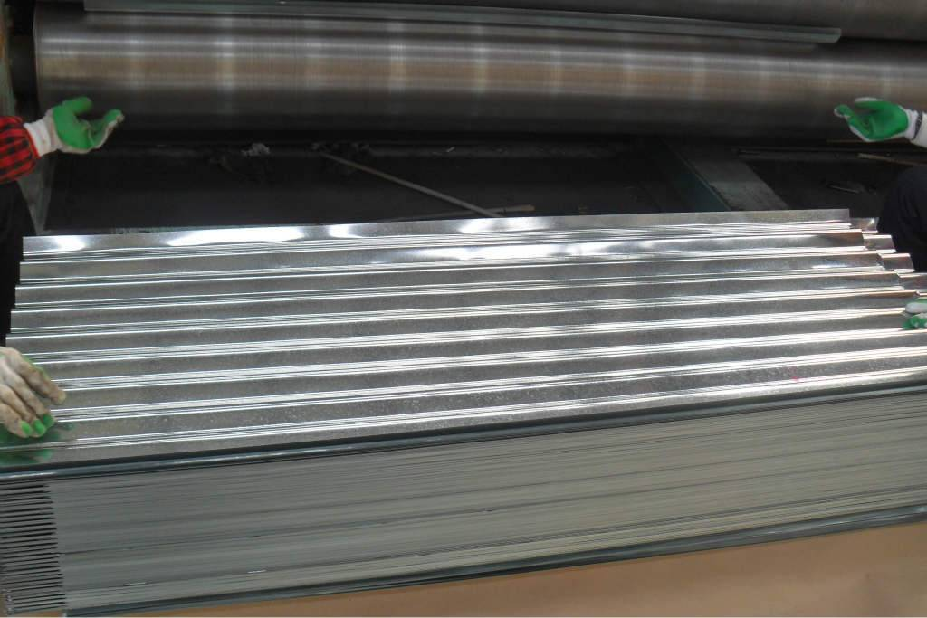 galvanized corrugated sheet metal