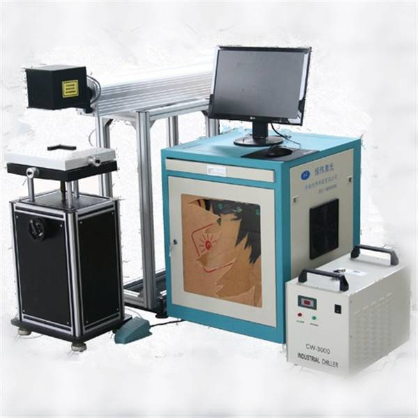 High speed co2 laser marking machine for nonmetal