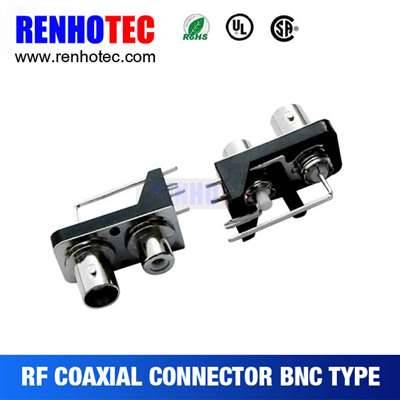 BNC To RCA Jack Connector In One Row