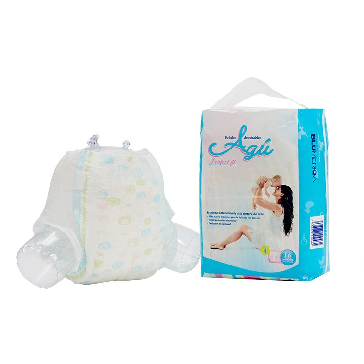 New Style High Absorbency Ultra-Thin Soft Breathable Baby Diapers