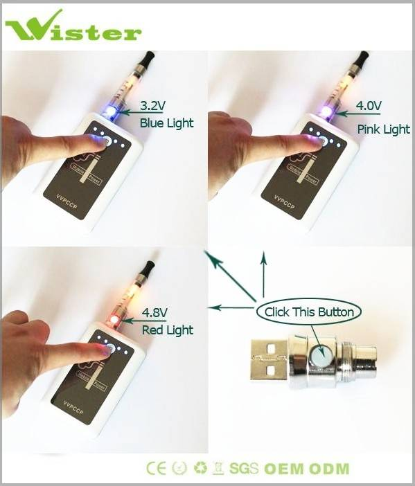 Revolution e cigarette new 2012 Cylapex VV-PCCP FIRST can be used as mobile power bank, 6600mAh VV S