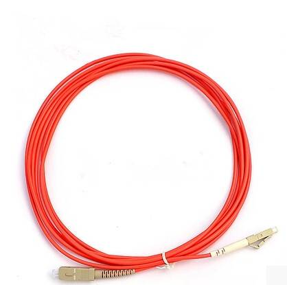 Multi mode LC-SC(PC/UPC) patch cord(simplex)