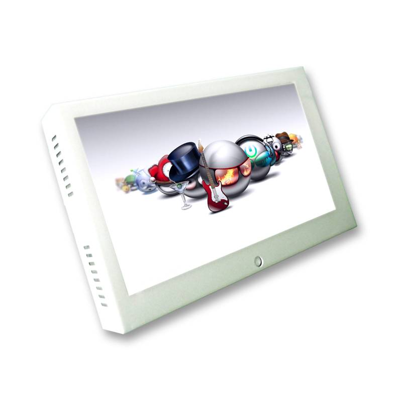 10.1inch with internal battery shopping trolley/cart lcd monitor
