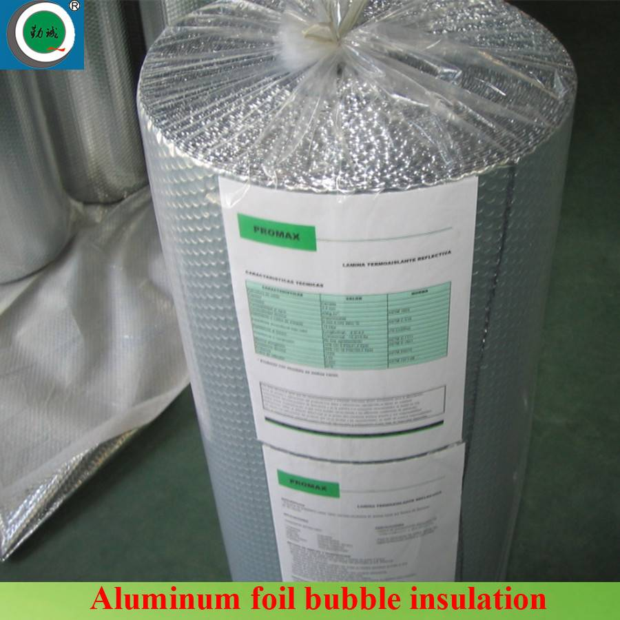 Metalized Aluminum Bubble Insulation with fire resistant