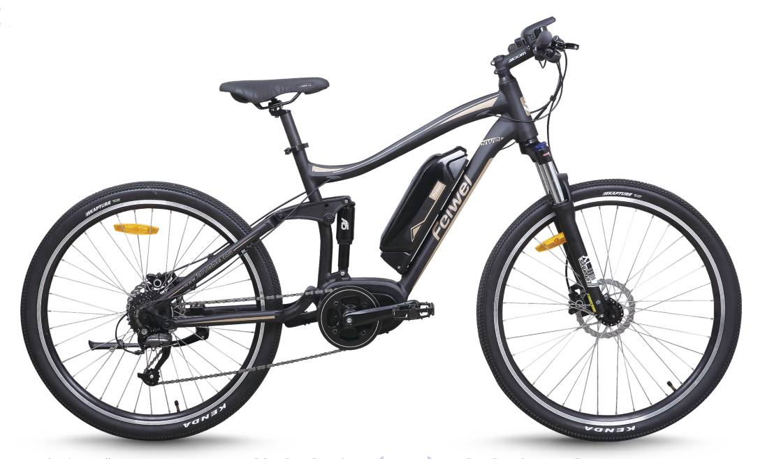 Bafang mid-drive motor mountain electric bike (TDB20Z)