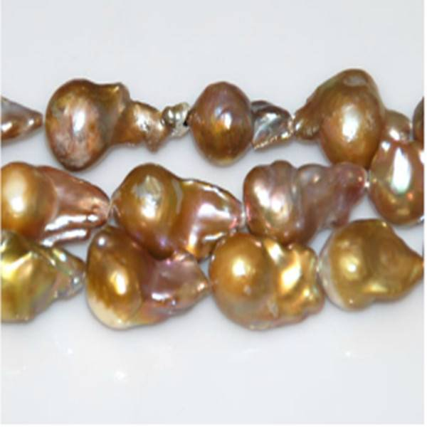 16 inches Pink/Lavender 12-20mm Baroque Pearl Strands