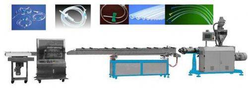 Medical pipe production line / infusion tube production line