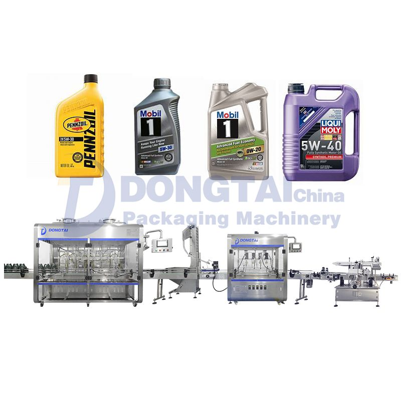 Automatic Lube Oil Filling Machine