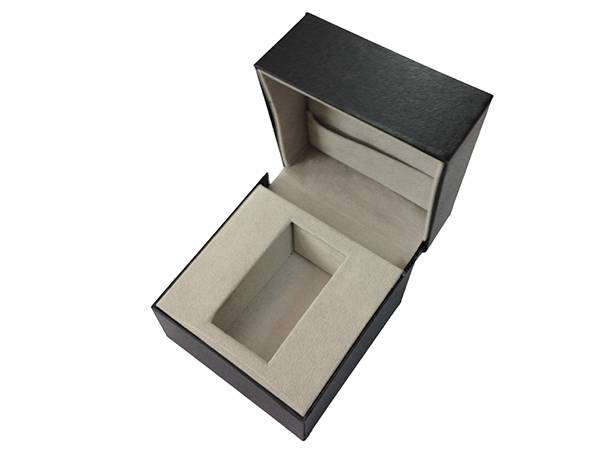 hinged watch box