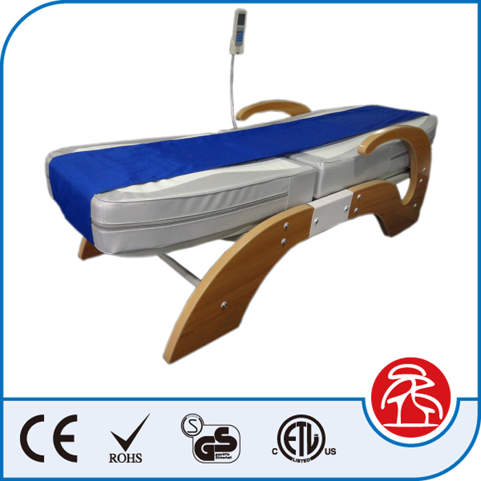 Whole Body MP3 Music Jade Stone Massage Bed With Incline And Decline Function