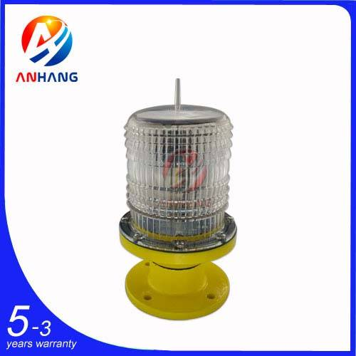 AH-LS/P Low-intensity Solar-Powered Aviation Obstruction Light