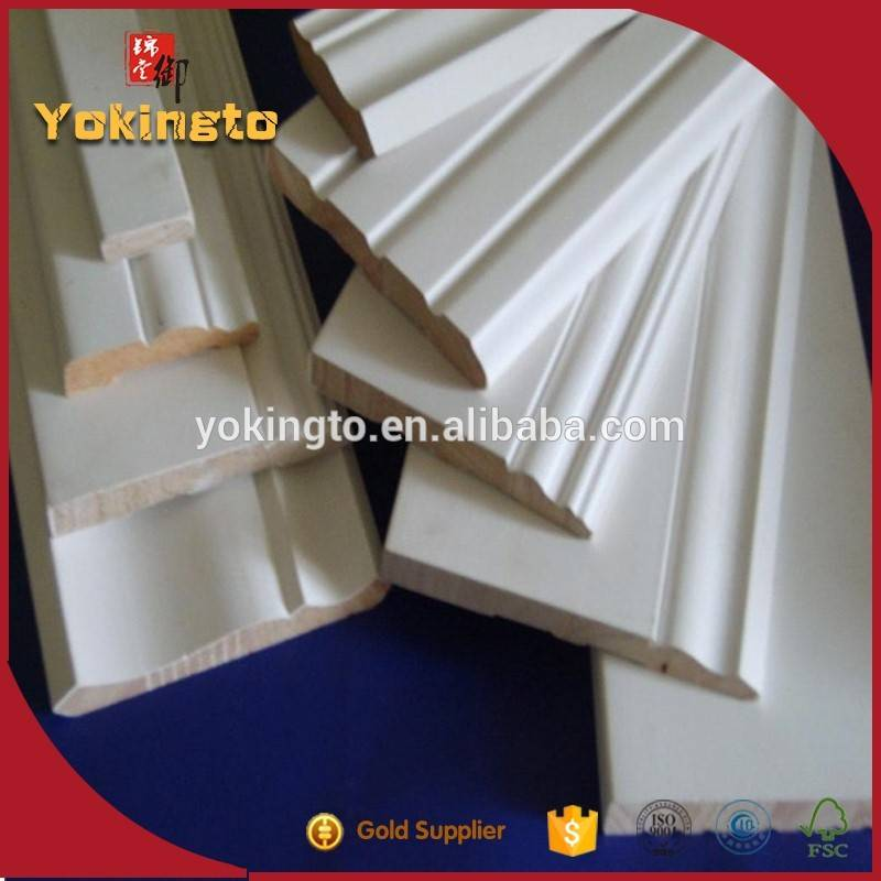 MDF Timber Plywood primed wood mouldings