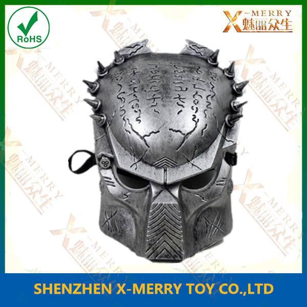X-MERRY Resin Replica Alien vs Predator movie mask ralistic latex facial mask