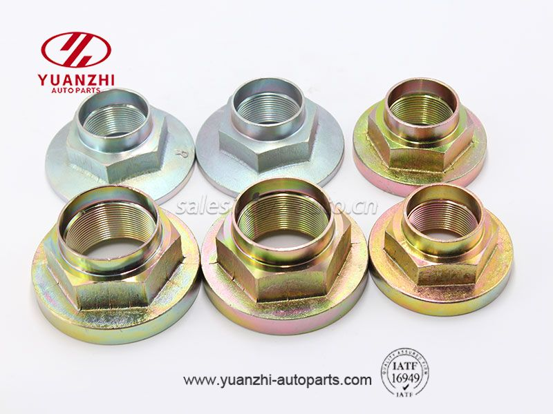 Carbon Steel Hex Flange Nuts Factory