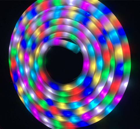 60LEDs Sk6812 Neon LED Tube; SMD5050 LED Digital Neon Flexible Tube with IC Sk6812; 16*15mm Flexible