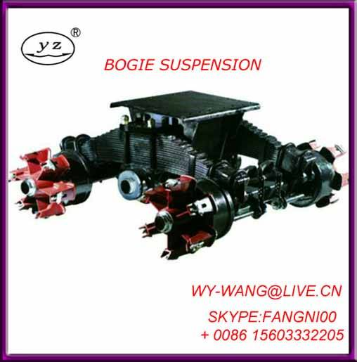 boggie suspension mechanical suspension for traielr parts