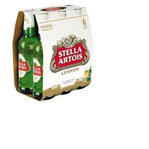 Stella Artois Beer, Budweiser Beer, Becks Beer, Calsberg Beer,
