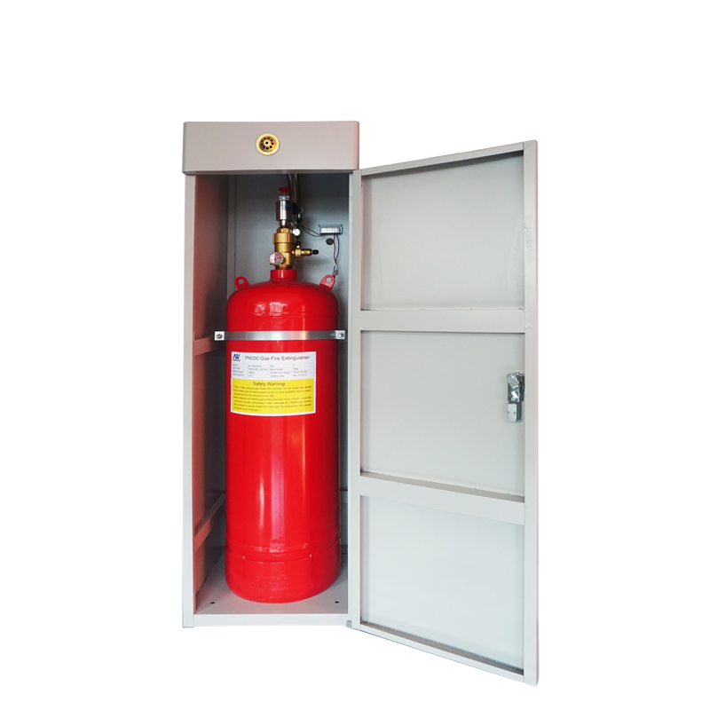 40L FM200 Gas suppression system cabinet type