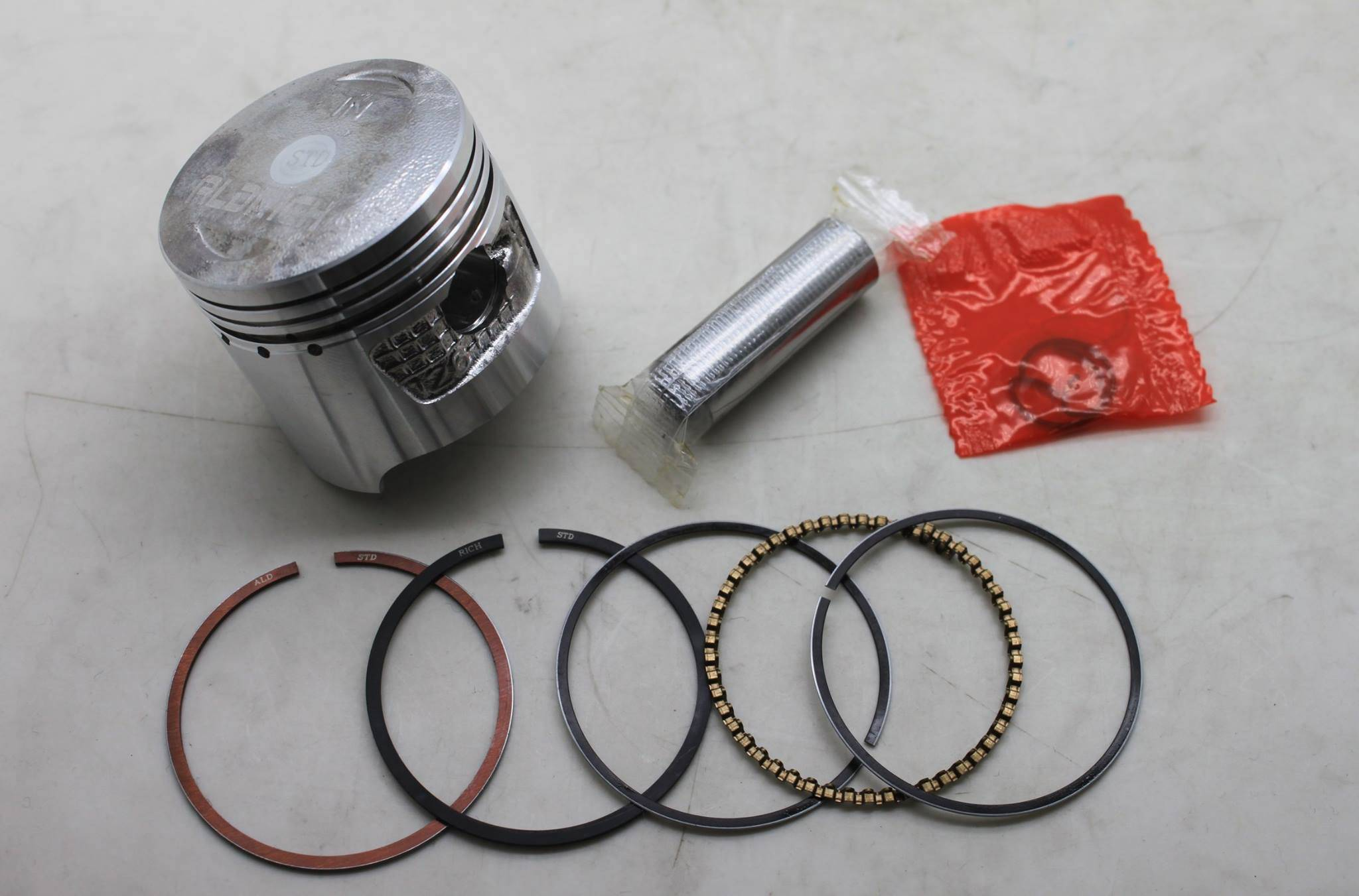 ALDRICH FOR CD70 PISTON AND RING, GOOD QUALITY!