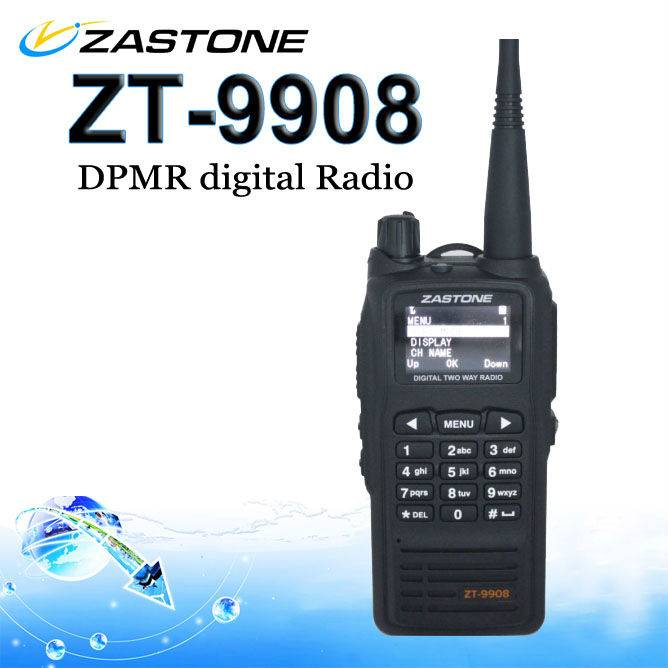 Best price and hot sell dPMR digital two way radio ZASTONE ZT-9908 walkie talkie