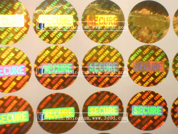3d hologram stickers manufacturers