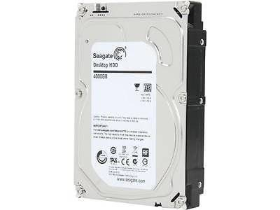 Seagate Desktop HDD 4TB Internal Hard Drive Disk