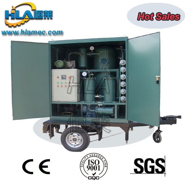 VPM Mobile type Vacuum Transformer Oil Purifier Oil Purification Oil Filtration Oil Recycling