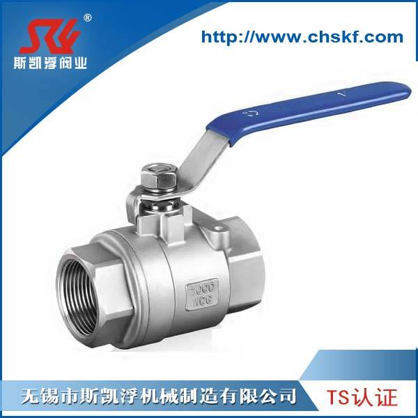 1/4-4 inch 2PC Stainless Steel Ball Valve Threaded Ends
