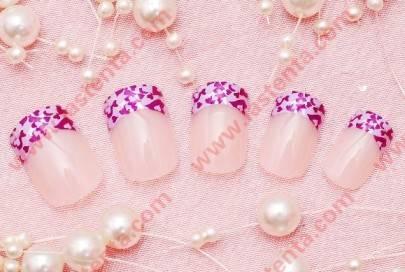 french nail,false nail,artificial nail