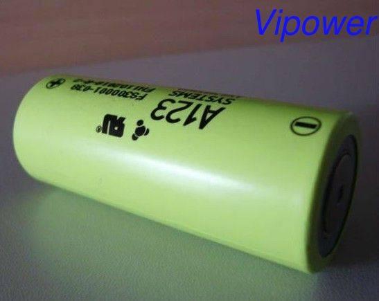 3.3V 2500mAh A123 26650 High Power LiFePo4 Battery Cell