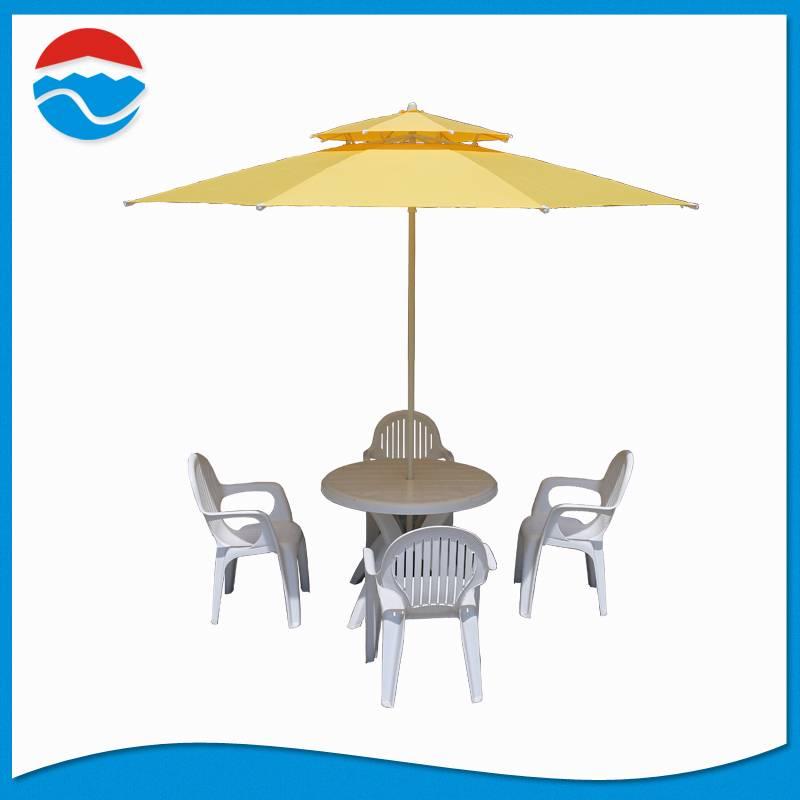 280CM*8K double lay windproof parasol