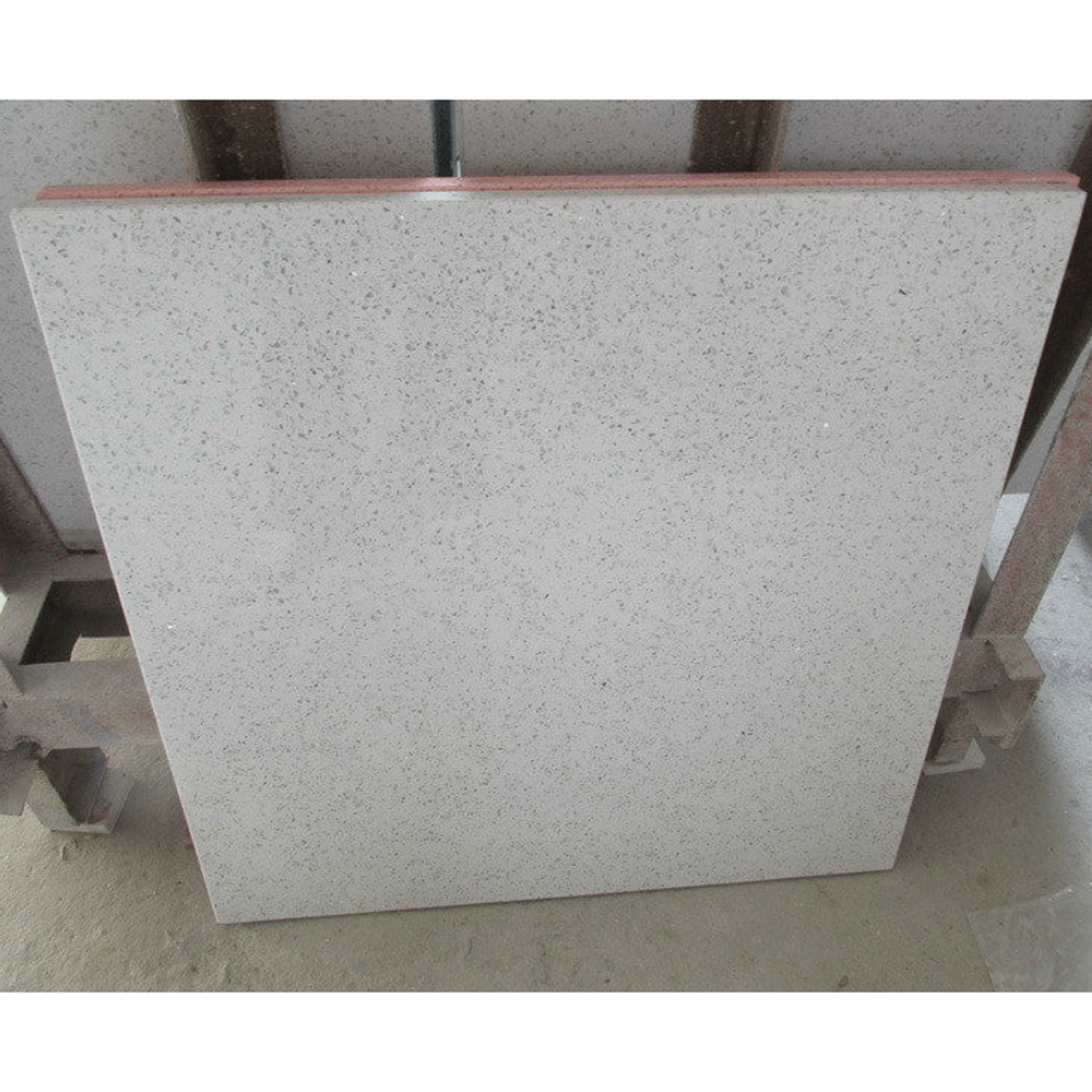 Artificial Quartz Stone White Kitchen Wall Tile for Interior