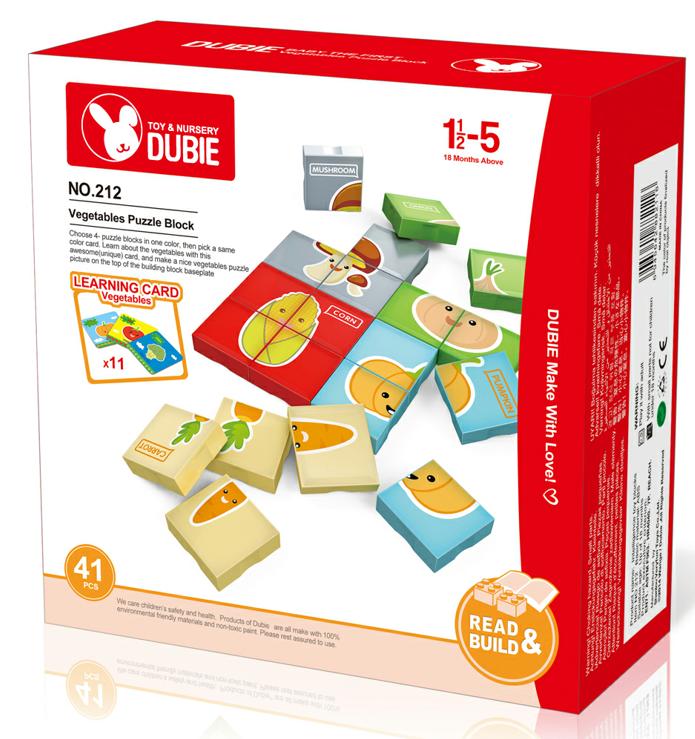 plastic puzzle durable ABS no-toxic good quality no MOQ