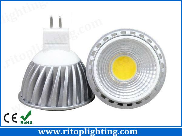 New 5W COB GU10 MR16 LED spotlight